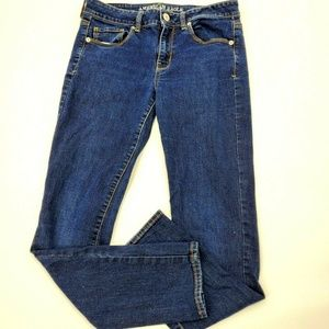American eagle jeans skinny super stretch 8